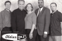 Oldies 104.3 Morning Crew circa 1990