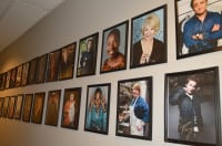The show's Wall of Fame