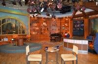 The Chicago Tonight set