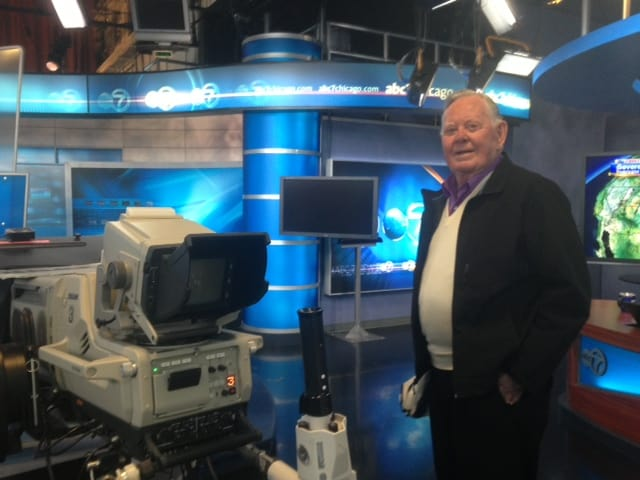 Joel at WLS-TV