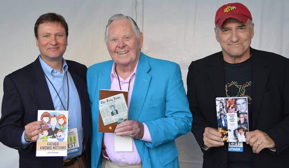 John Records Landecker, Joel Daly & Rick Kaempfer at the Printer's Row Lit Fest (June 6)