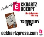 Free Excerpt: The Daly News. Commentary February 8, 1974