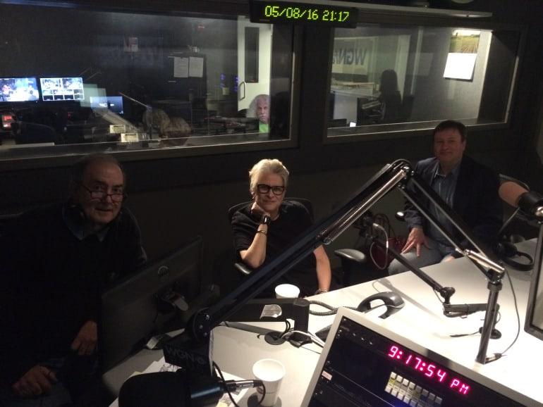 Pat Colander on WGN Radio with Rick Kogan (Photos & Audio)