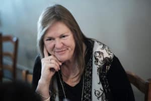 Jane Sanders, wife of Vermont Senator and 2016 Democratic presidential candidate Bernie Sanders (photo Bloomberg via Getty images)