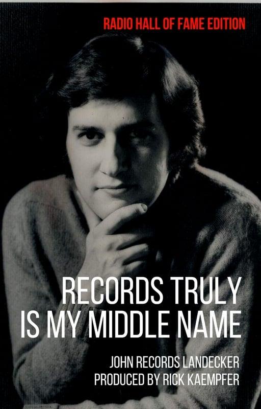 National Radio Hall of Famer John Records Landecker to Update Memoir
