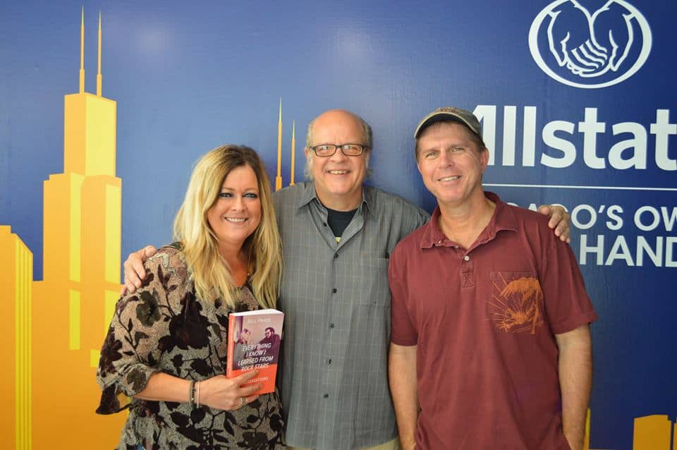 Bill Paige on WGN Radio with Bill and Wendy (Photos and Audio)
