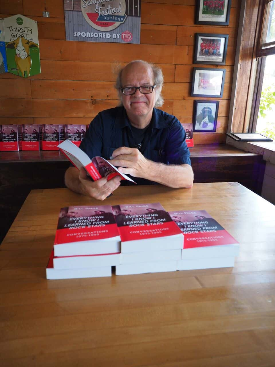 """Everything I Know I Learned From Rock Stars"" Book Signing in Texas!"