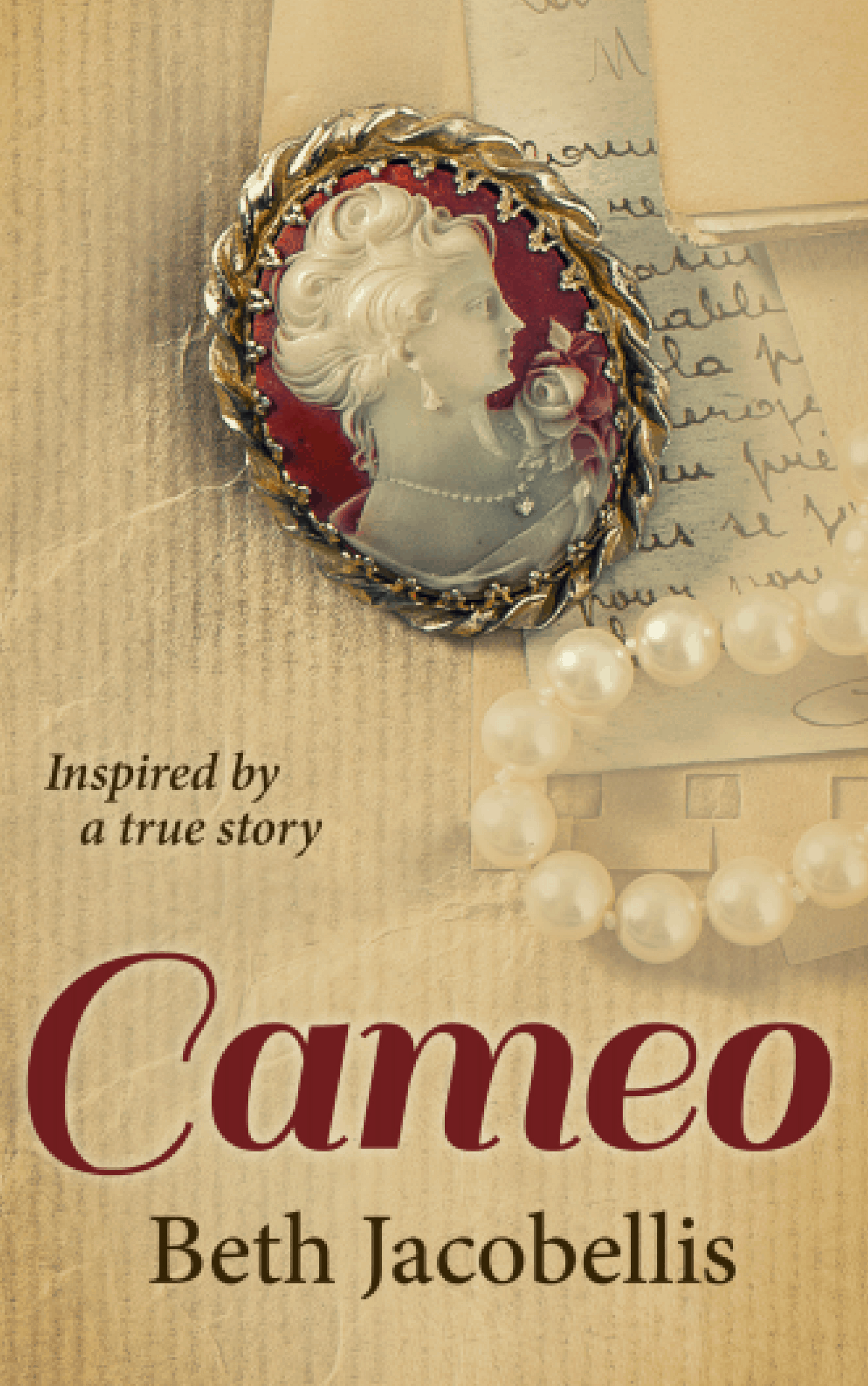 "Available for pre-order now! ""Cameo"" by Beth Jacobellis"